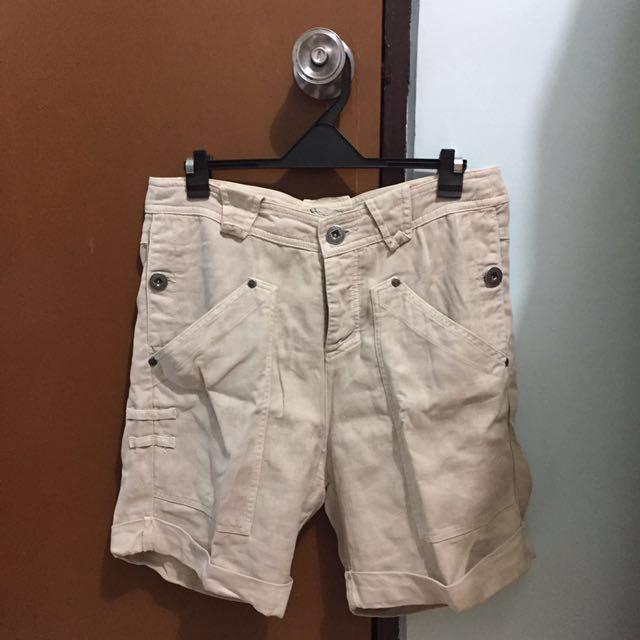 Zara TRF Trafaluc cargo shorts