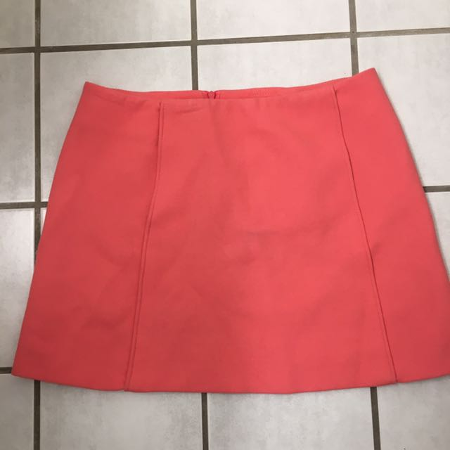 Zara women's pink skirt