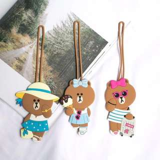 Line Friends - Luggage Tag 行李牌