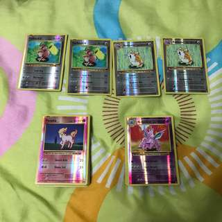 Pokemon XY Evolutions Reverse Holo Rares/Common/Uncommon/Trainer Cards