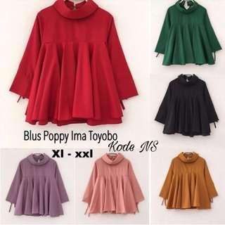 Poppy blus