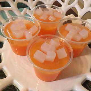 Mango Coco Pudding In Cup