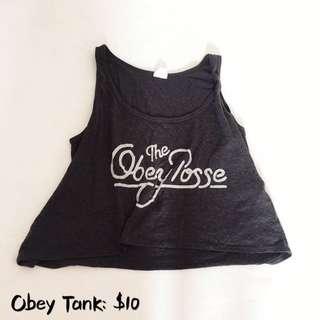Obey Tank