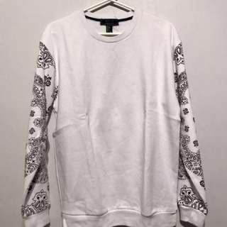 Forever 21 Bandana Print Pullover