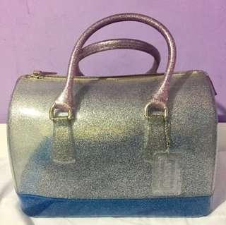 ORIGINAL! FURLA CANDY GLITTER BAG