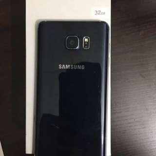Samsung Note5 蓝色 水货 超新  32g 火牛同耳筒。都係新