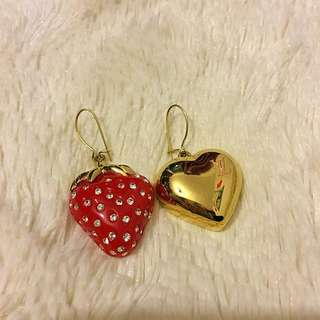 LV Earrings Limited Bling Bling Earring 耳環  ❌ lady Dior Chanel Prada Gucci Salvatore Ferragamo Hermes Loewe Backpack Moschino Lv wallet Bag 銀包 背包 袋