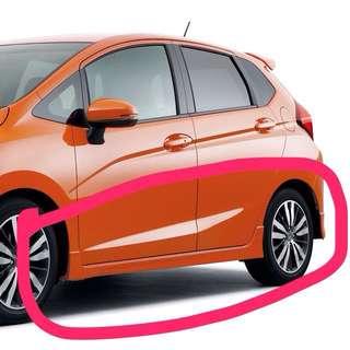 Honda fit/jazz GK 2014 sideskirt RS