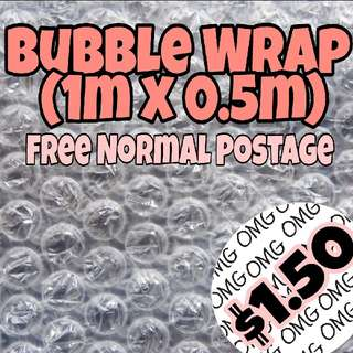 📮Free NORMAL postage   💯Brand New Bubble Wrap 1m x 0.5m  🛒Guni Craft 🛒Guni Micell 🛒Guni 1.50