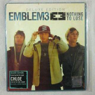 Emblem3 Nothing To Lose Deluxe