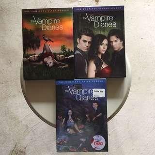 Vampire diaries season 1,2,5