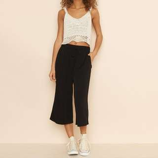 Garage Black Culottes