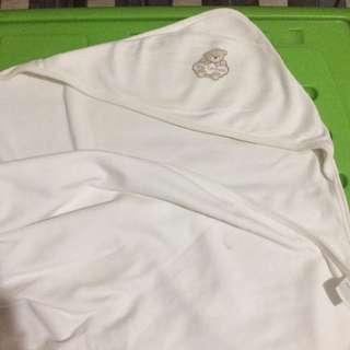 Tiny Tummies Hooded Blanket (Beige)
