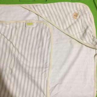 Tiny Tummies Hooded Blanket (Stripes)