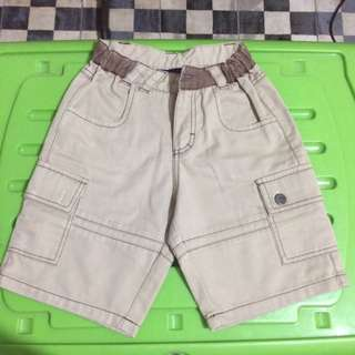Periwinkle Brown Shorts