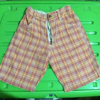 Kiddos Shorts (Red-Orange)