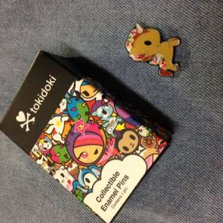 Tokidoki Unicorno Collectible Enamel Pin - Cornetto