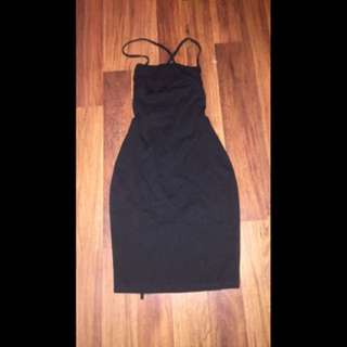 M store backless dress