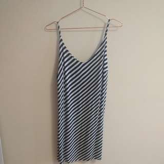 Stripe Strap Dress