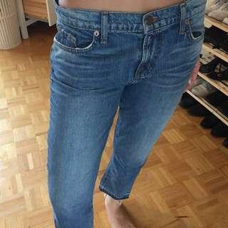 J Brand Medium Wash Girlfriend Jeans