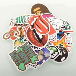 Cheapest Price $2 For 10 Stickers!!