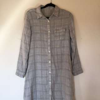 Muji Shirt dress
