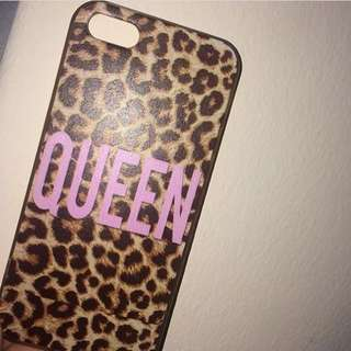 iPhone Leopard Queen Case