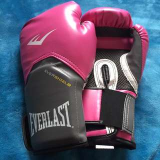 Everlast Women's Pro Style training gloves (pink, 12oz)