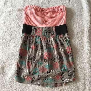 strapless zumiez dress