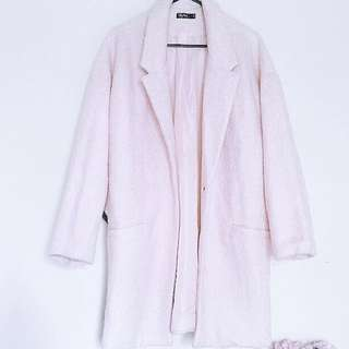 *REDUCED* ☃️Baby Pink Warm Coat☃️