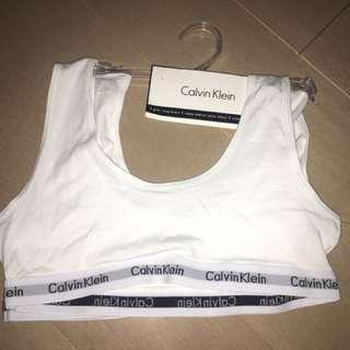 Calvin Klein 2 piece sports bra set