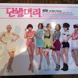 AOA 《Short Hair》 1st mini album with photo card