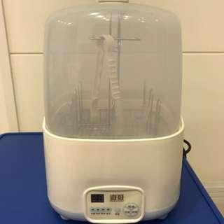 奇哥微電腦奶瓶消毒蒸氣烘乾機