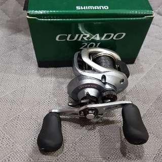 SHIMANO CURADO 201 LEFT HANDED BAITCASTING REEL