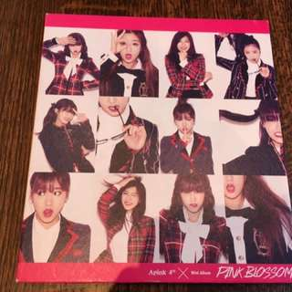 Apink 《Pink Blossom》 good condition no photo card