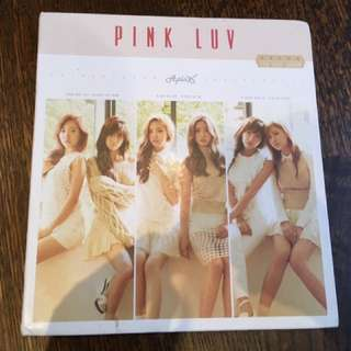 Apink 《Luv》 good condition no photo card