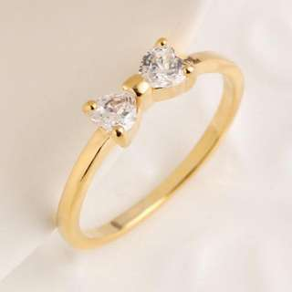 CZ Trend -Bow Ring
