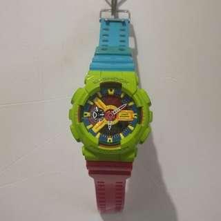 Custom G Shock Watch: FC Candy