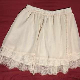 H&M Beige skirt