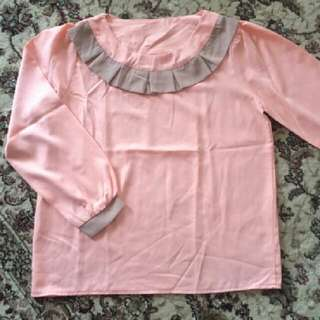 Blouse Baby Pink