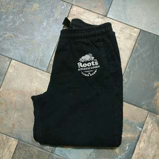 Black Roots Track Pants - Large