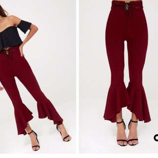 Flared Trousers size 8