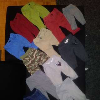 MIXED LOT OF BABY BOY CLOTHES