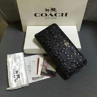 Coach F54805 Accordion Zip Wallet