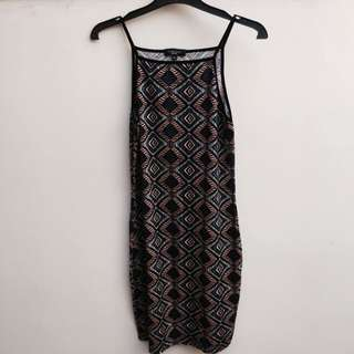 Newlook patterned dress