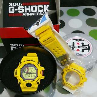 Reserved - Casio G Shock Rangeman 9430 30th Anniversary Limited LNIB W Extra New BnB