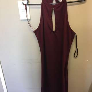 Cotton On Maroon red dress