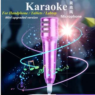 Mini Portable Karaoke Smart Phone Mic (Buy 2 get 1 free)