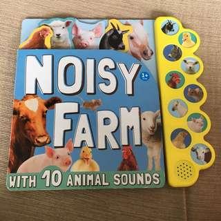 PL mark's & Spencer farm animal sound book