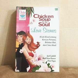 Buku Novel Chicken Soup Love Stories
